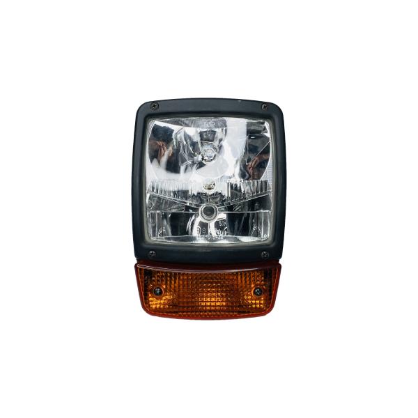 700/38500 ORIGINÁL Pravý svetlomet so smerovkou JCB 3CX, 4CX