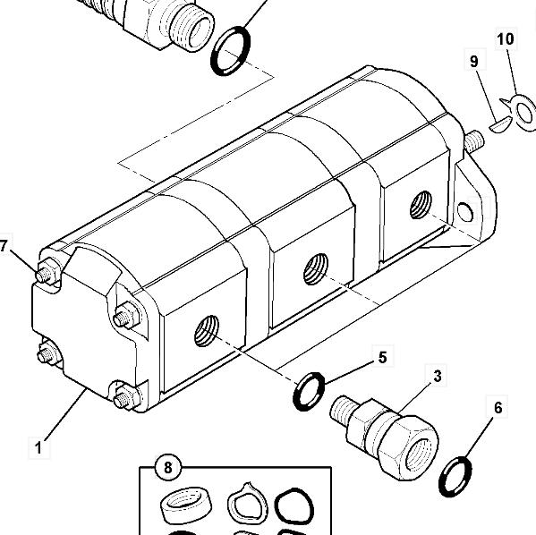 20/925320 NEXGEN Hydraulické čerpadlo jcb